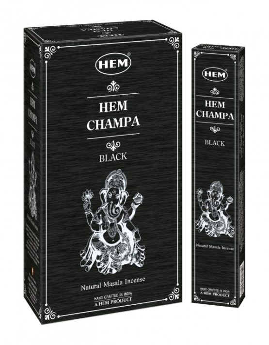 INCENSO HEM CHAMPA BLACK