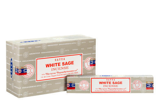 incenso satya white sage