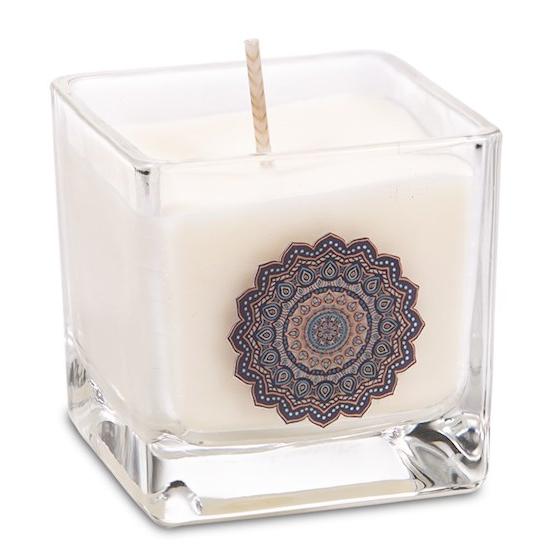 candela mandala profumata all'olio di oodh