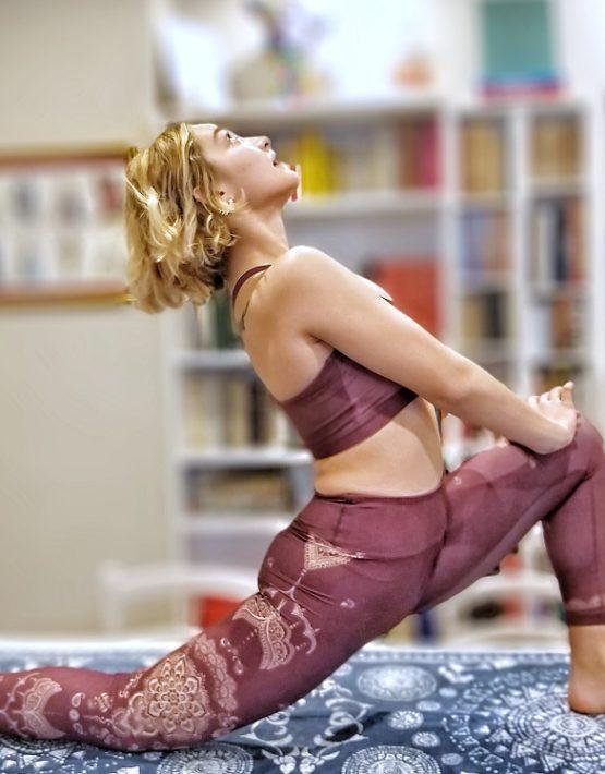 shambhala karma leggings oriental